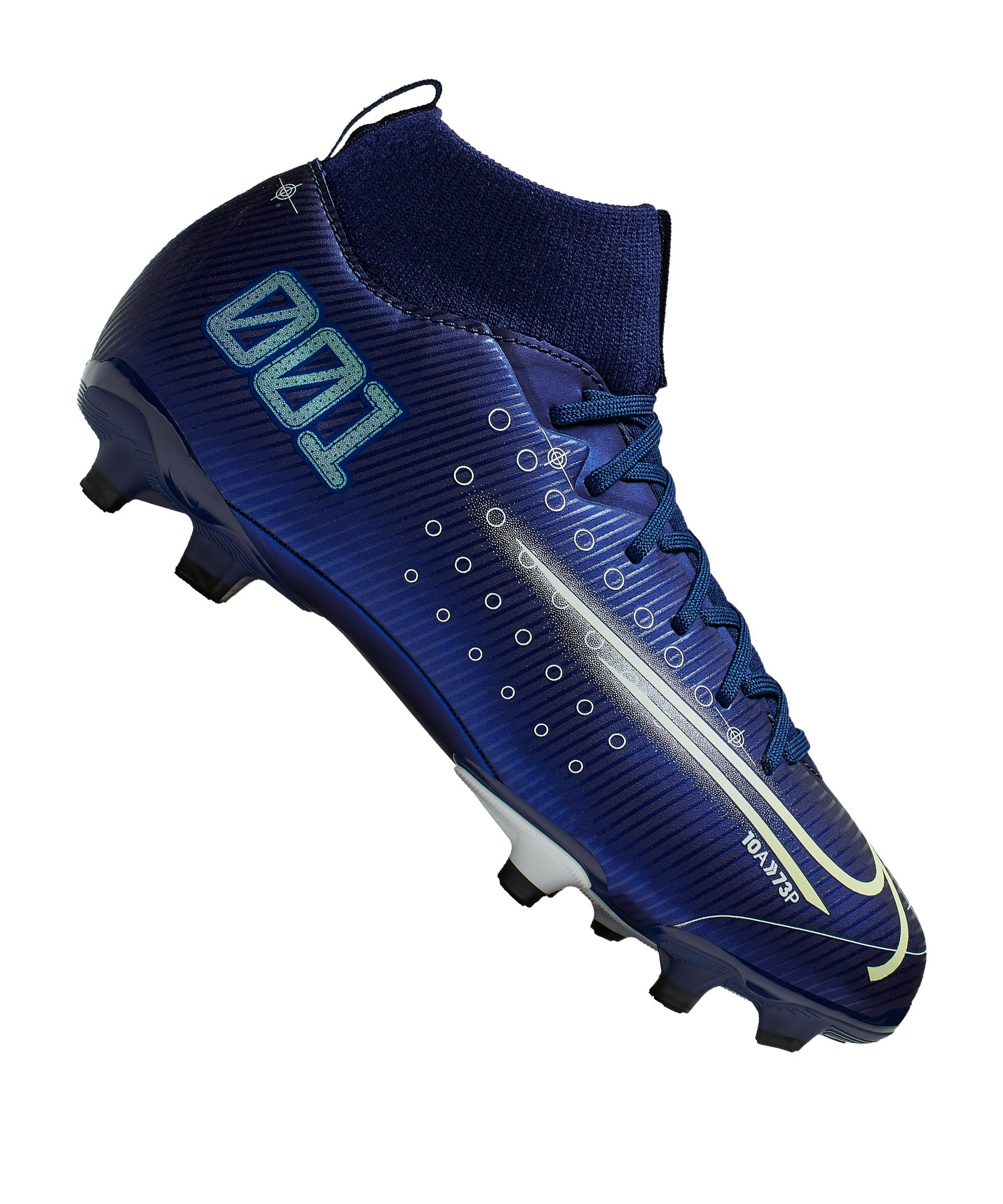 Nike Jr Mercurial Superfly VII Dreamspeed Academy FG Kids Blau F401 - blau