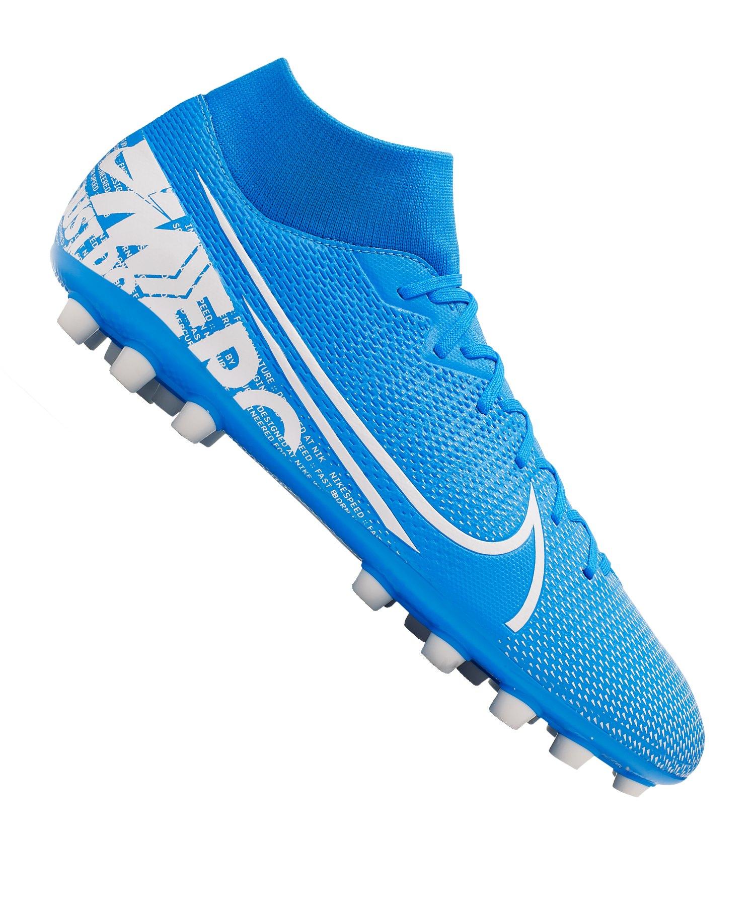 Nike Mercurial Superfly VII Academy AG Blau F414 - blau