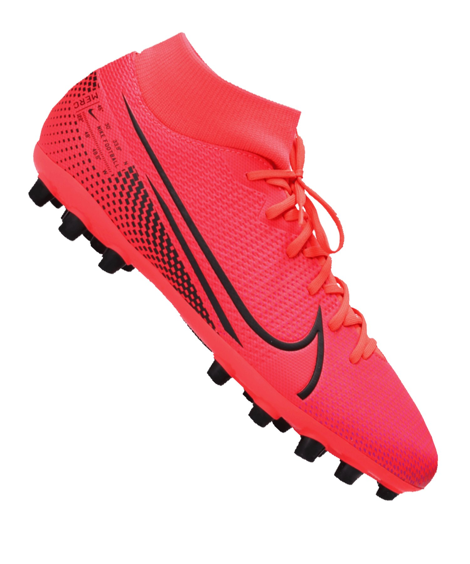 Nike Mercurial Superfly VII Academy AG Rot F606 - rot