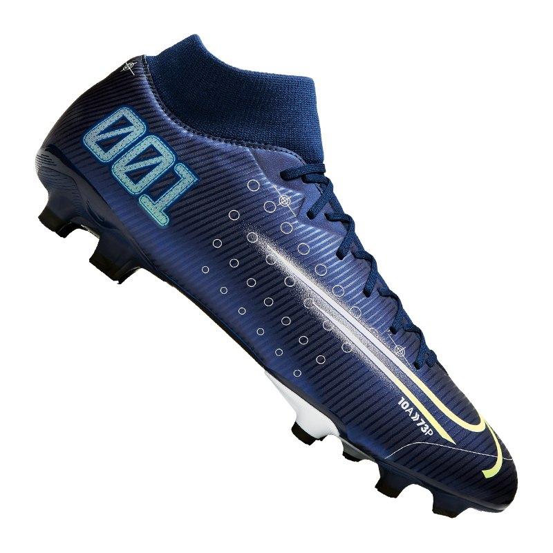 Nike Mercurial Superfly VII DS Academy FG Blau F401 - blau