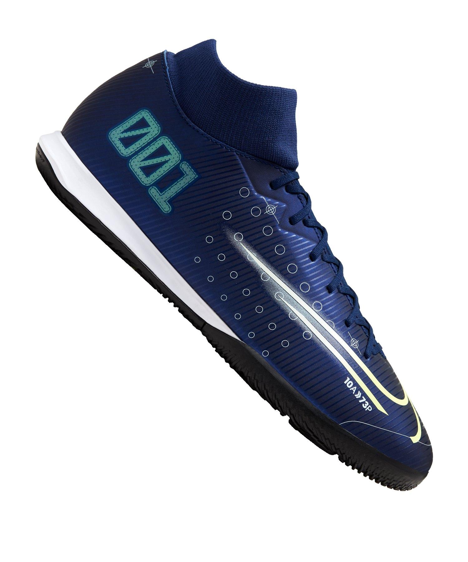 Nike Mercurial Superfly VII DS Academy IC Blau F401 - blau