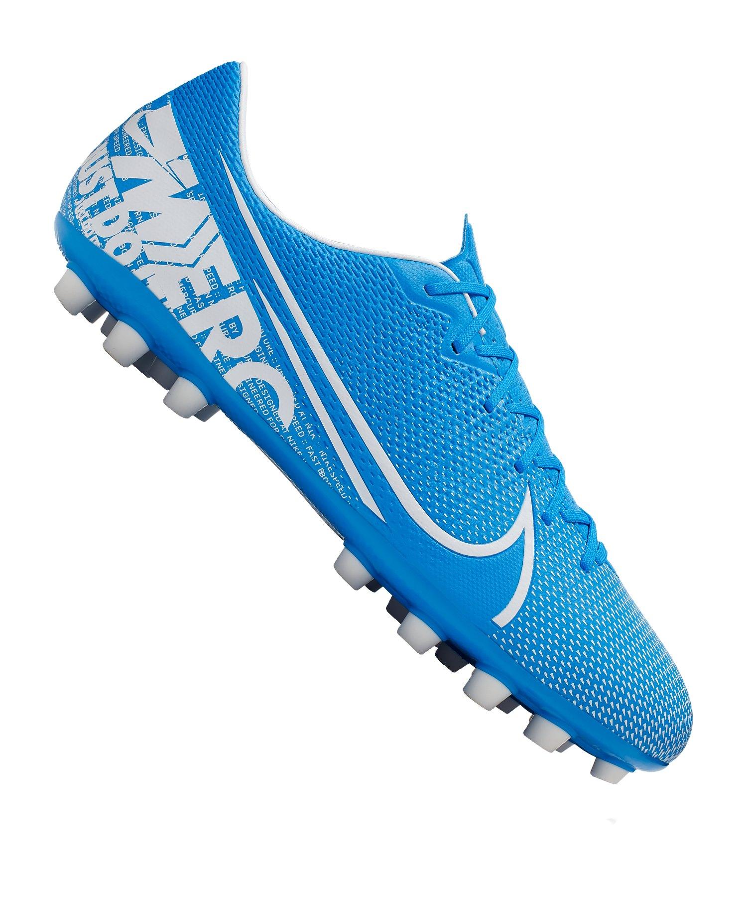 Nike Mercurial Vapor XIII Academy AG Blau F414 - blau