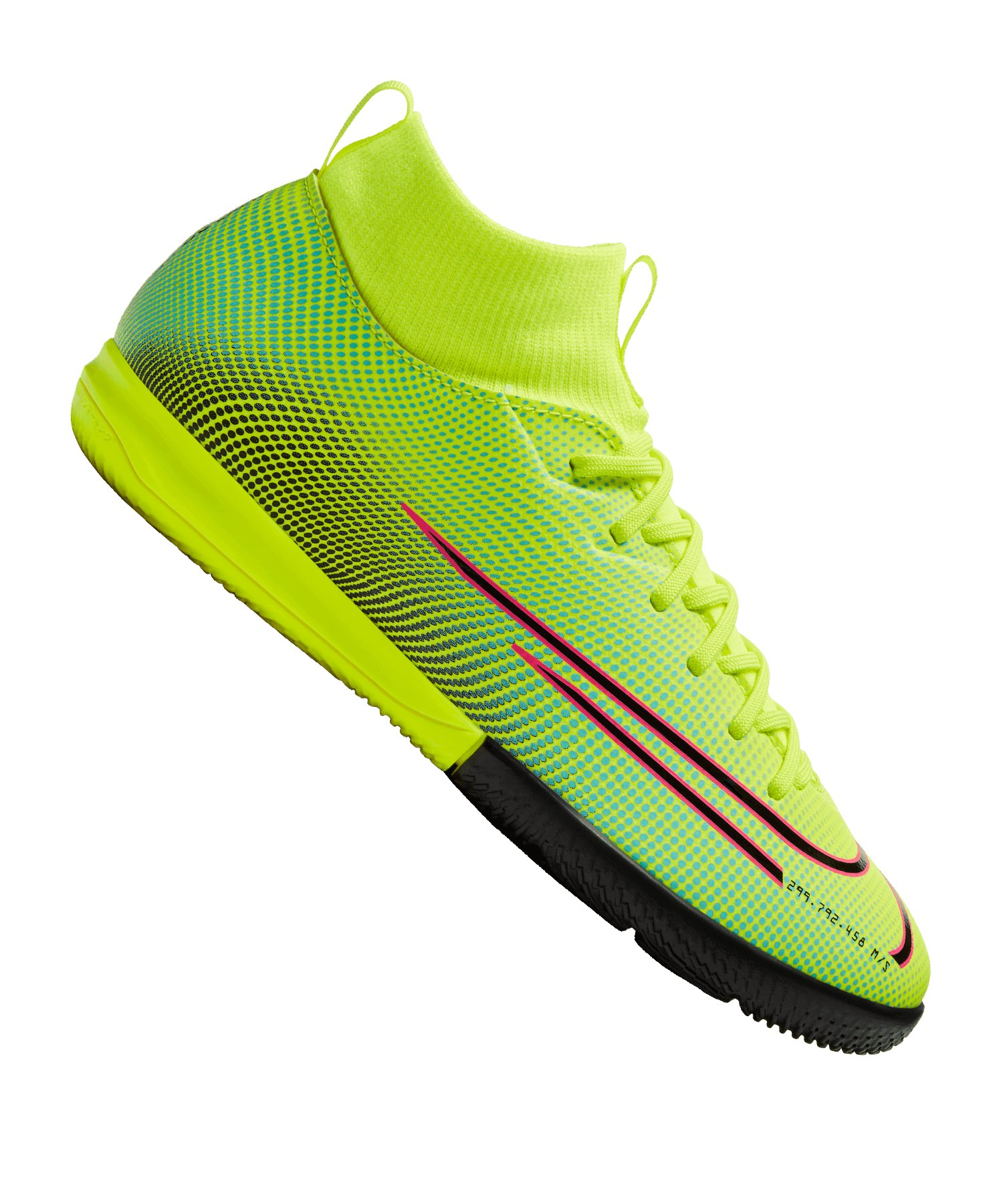 Nike Jr Mercurial Superfly VII Dreamspeed Academy IC Kids Gelb F703 - gelb