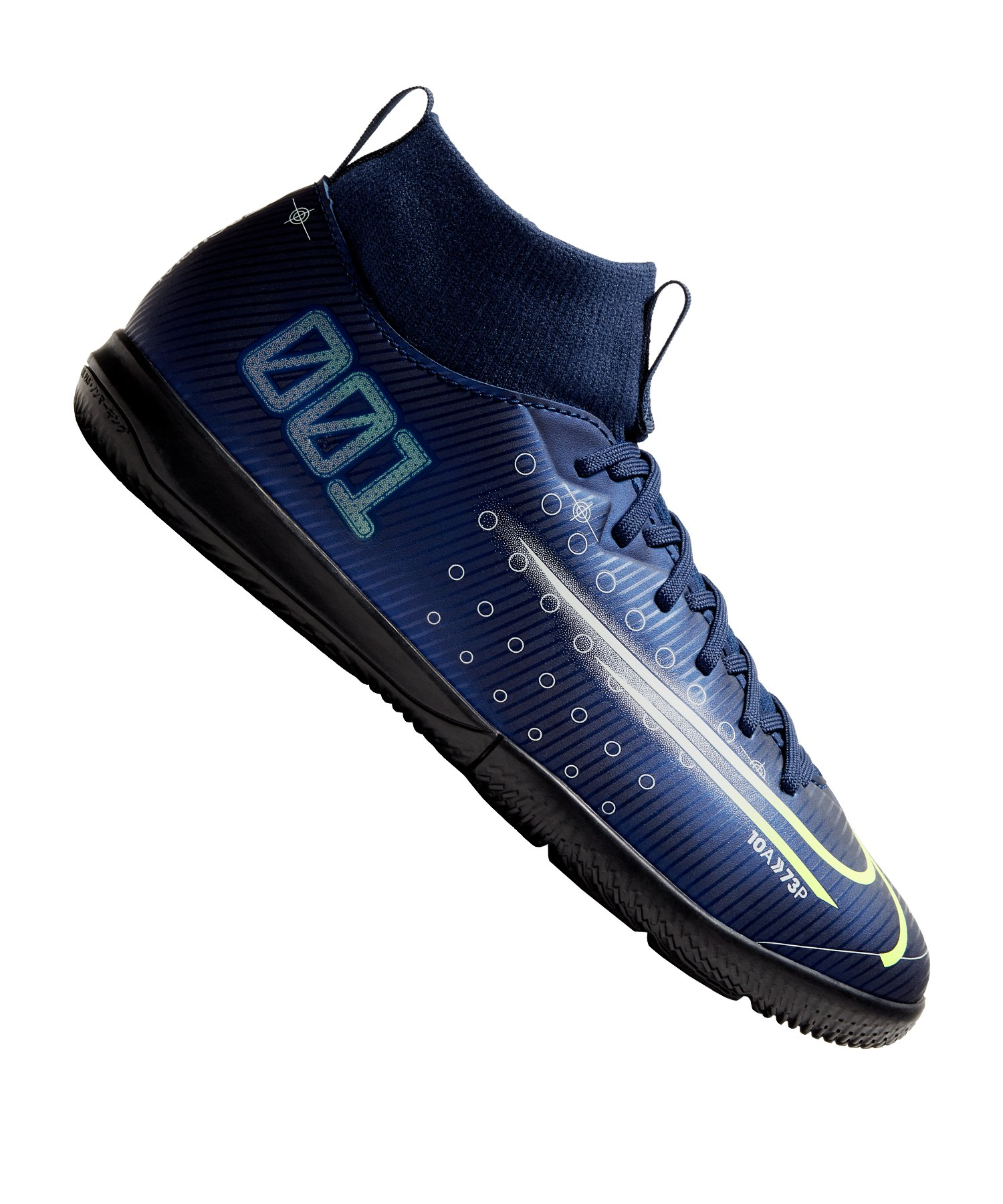 Nike Jr Mercurial Superfly VII DS Academy IC Kids Blau F401 - blau