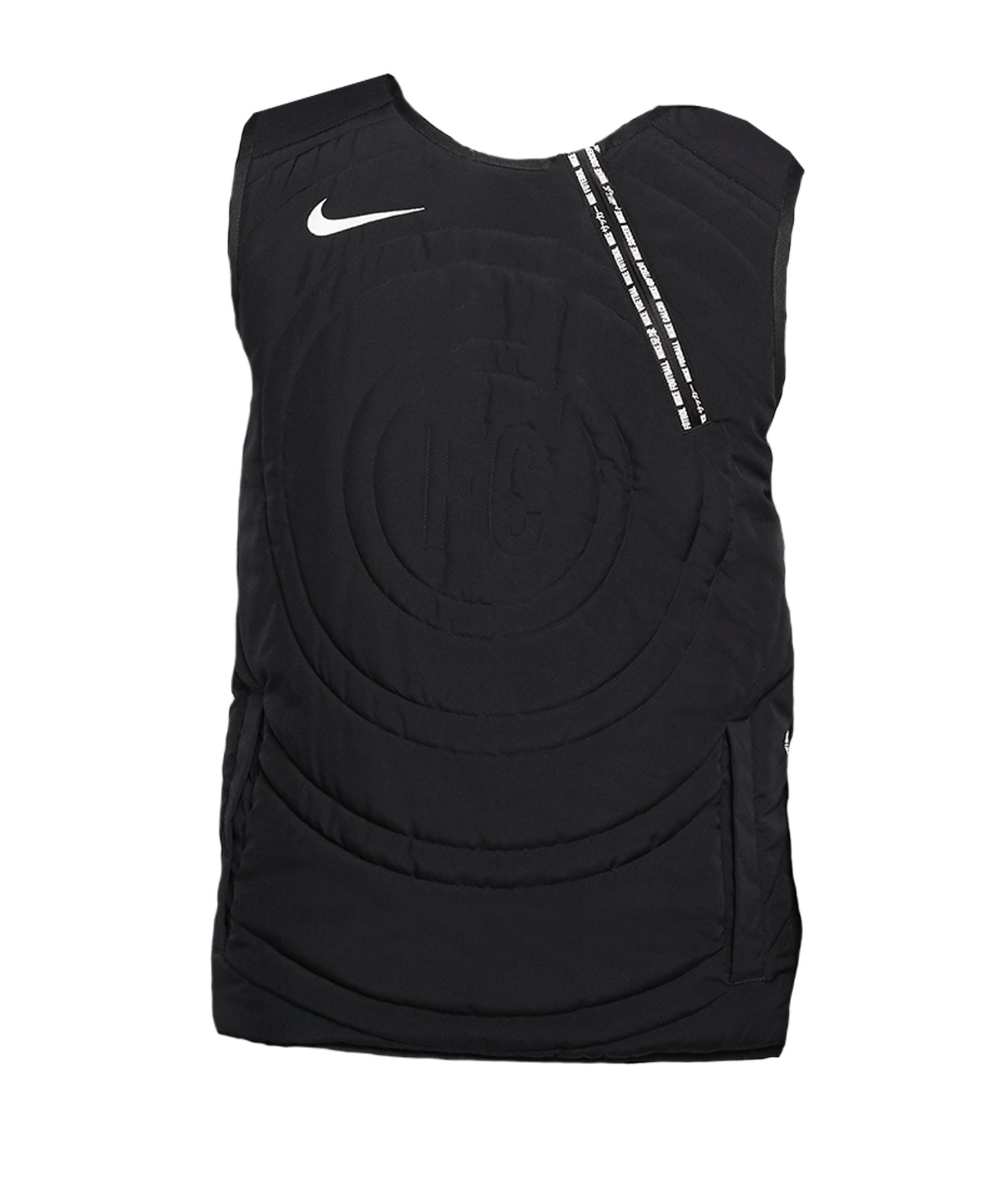 Nike F.C. Vest Weste Schwarz F010 - schwarz