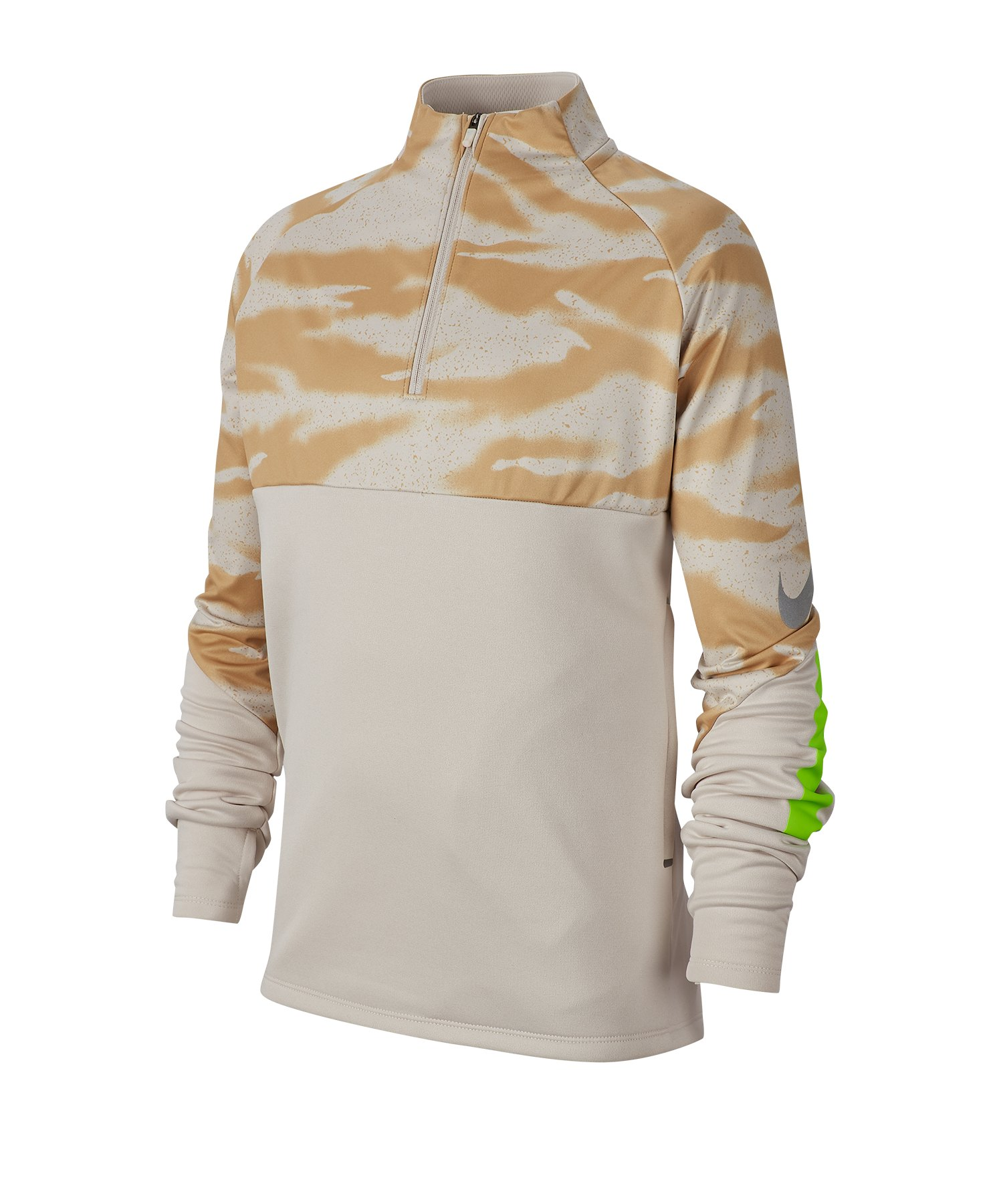 Nike Therma Shield Strike Shirt langarm Kids F008 - grau