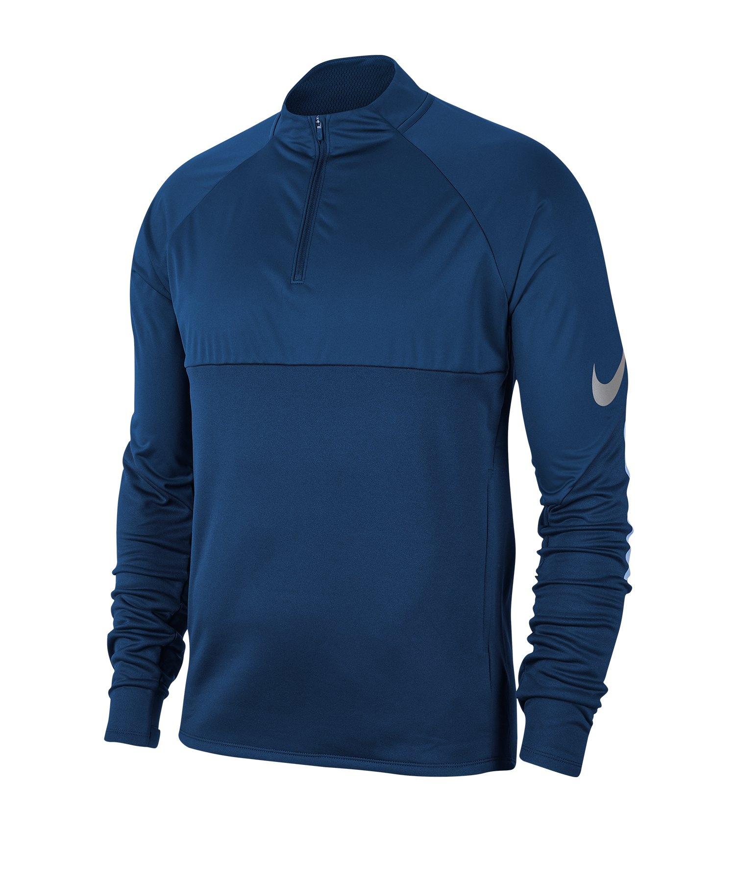 Nike Therma 1/4 Zip Trainingsweatshirt Blau F407 - blau
