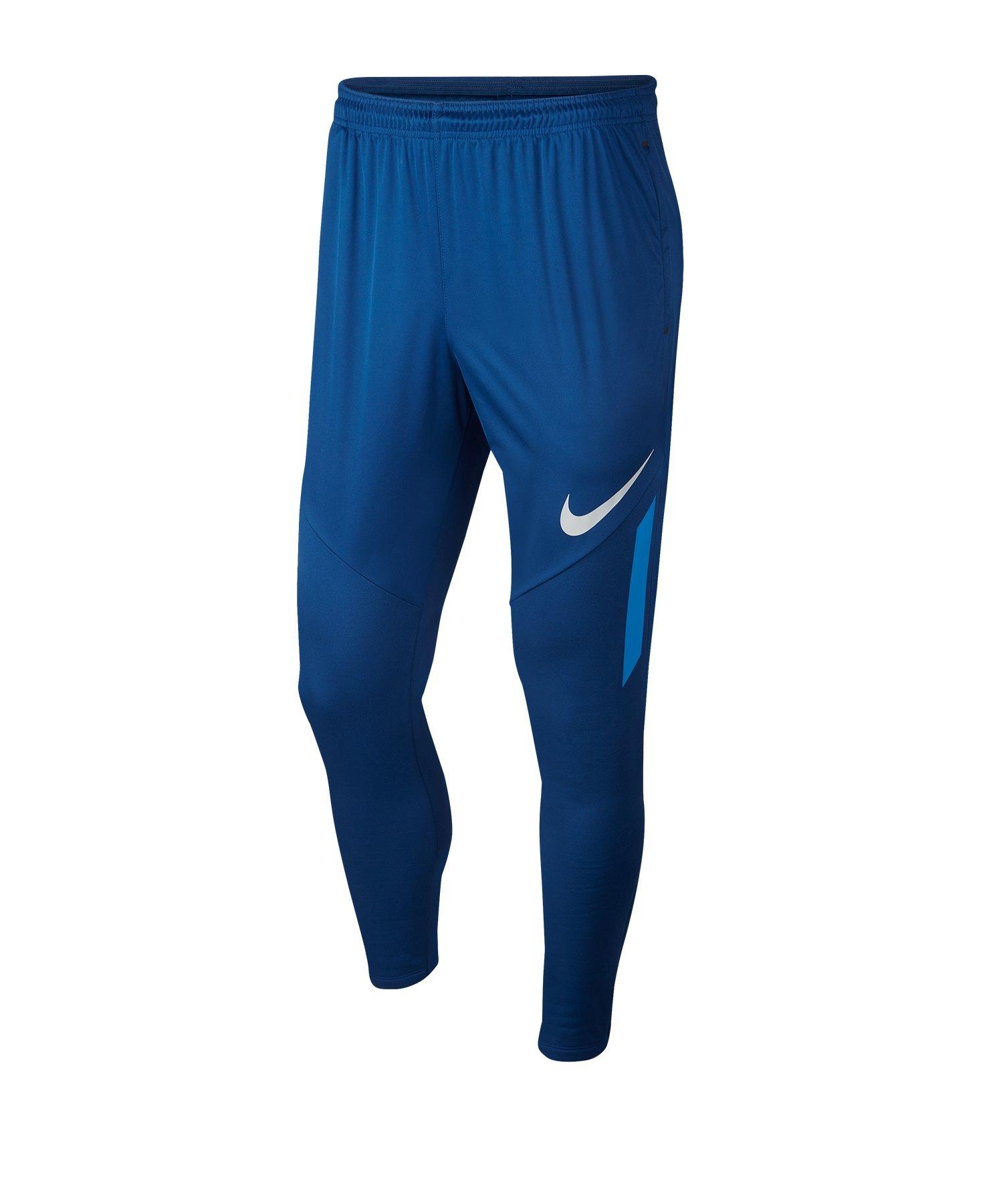 Nike Therma Pants Trainingshose Blau F407 - blau