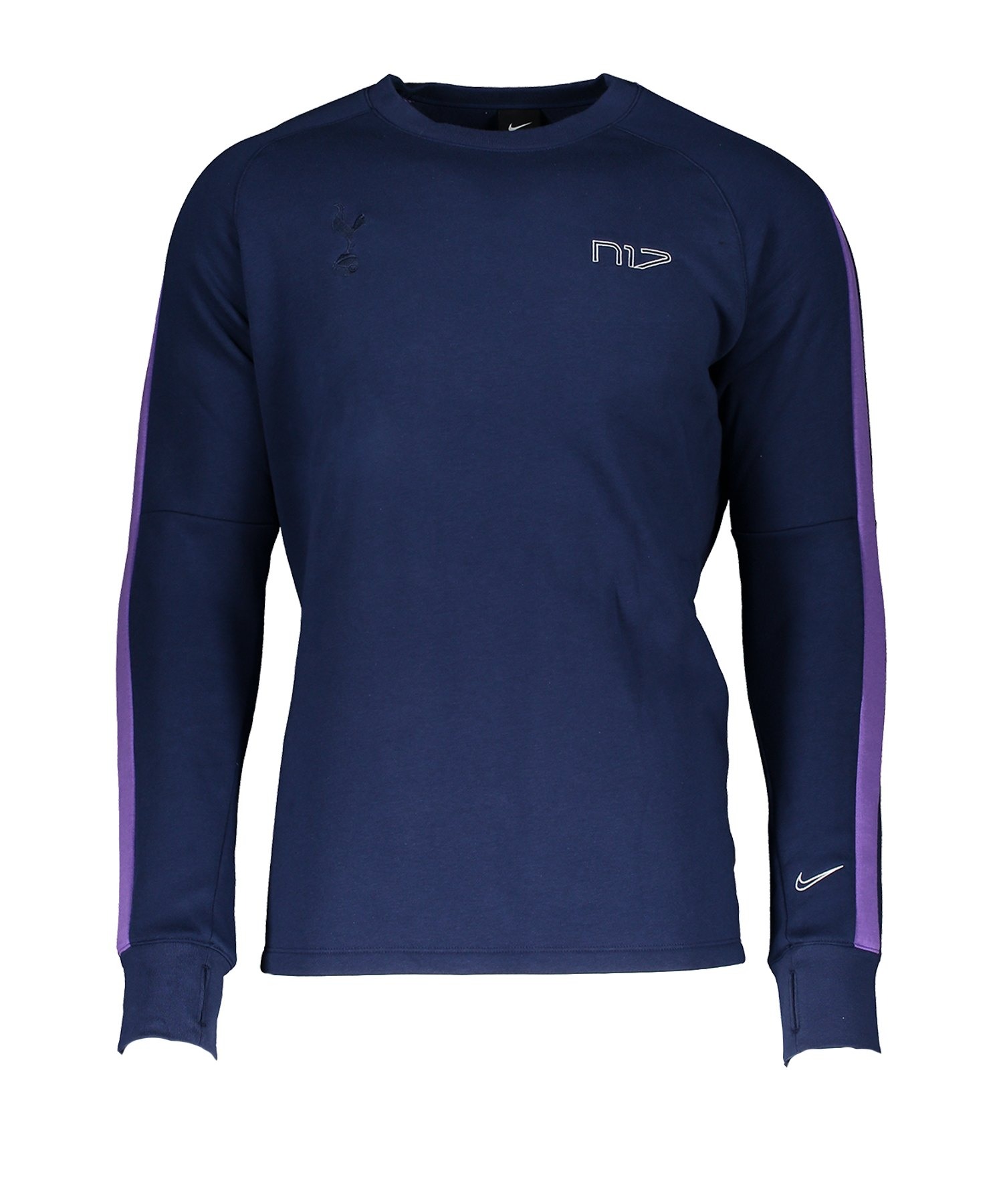 Nike Tottenham Hotspur Fleece Crew Sweatshirt F429 - lila
