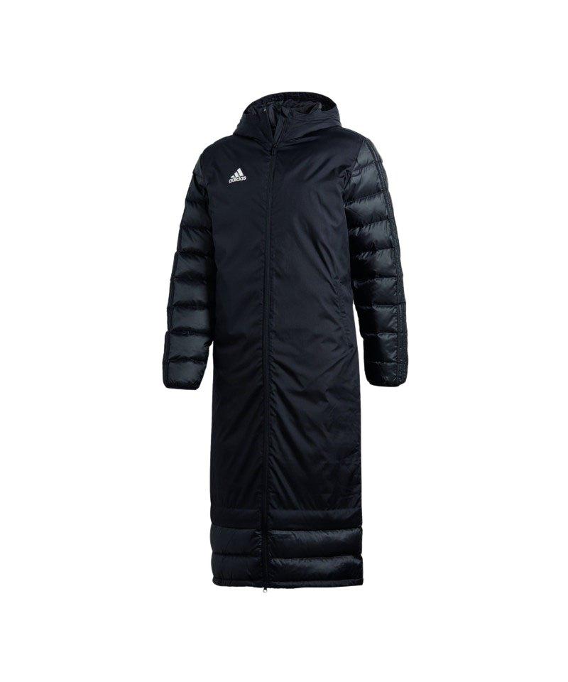 adidas Condivo Winter Coat 18 Mantel Schwarz - schwarz