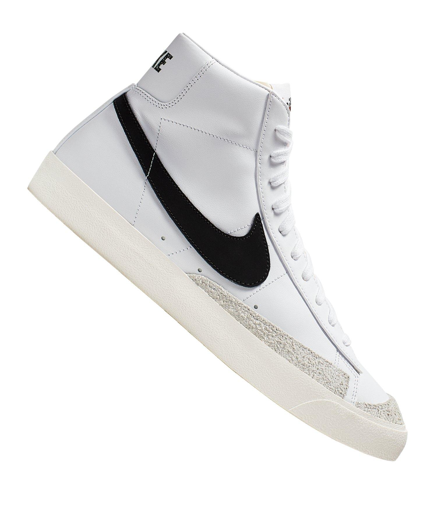 Nike Blazer Mid 77 Vintage Sneaker Weiss F100 - weiss
