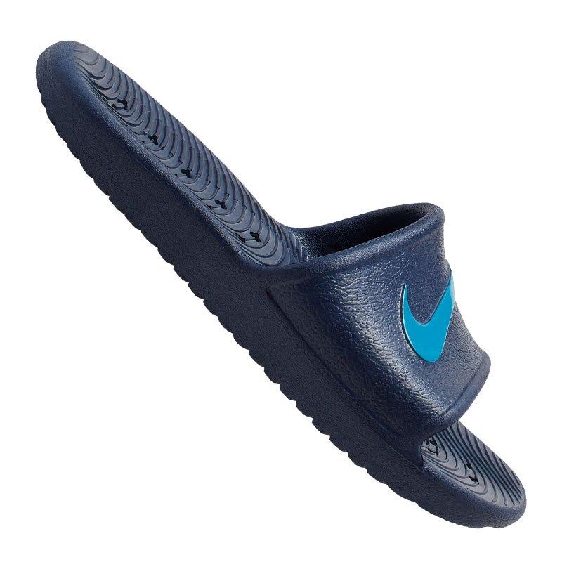 Nike Kawa Shower Badelatsche Kids Blau F402 - blau