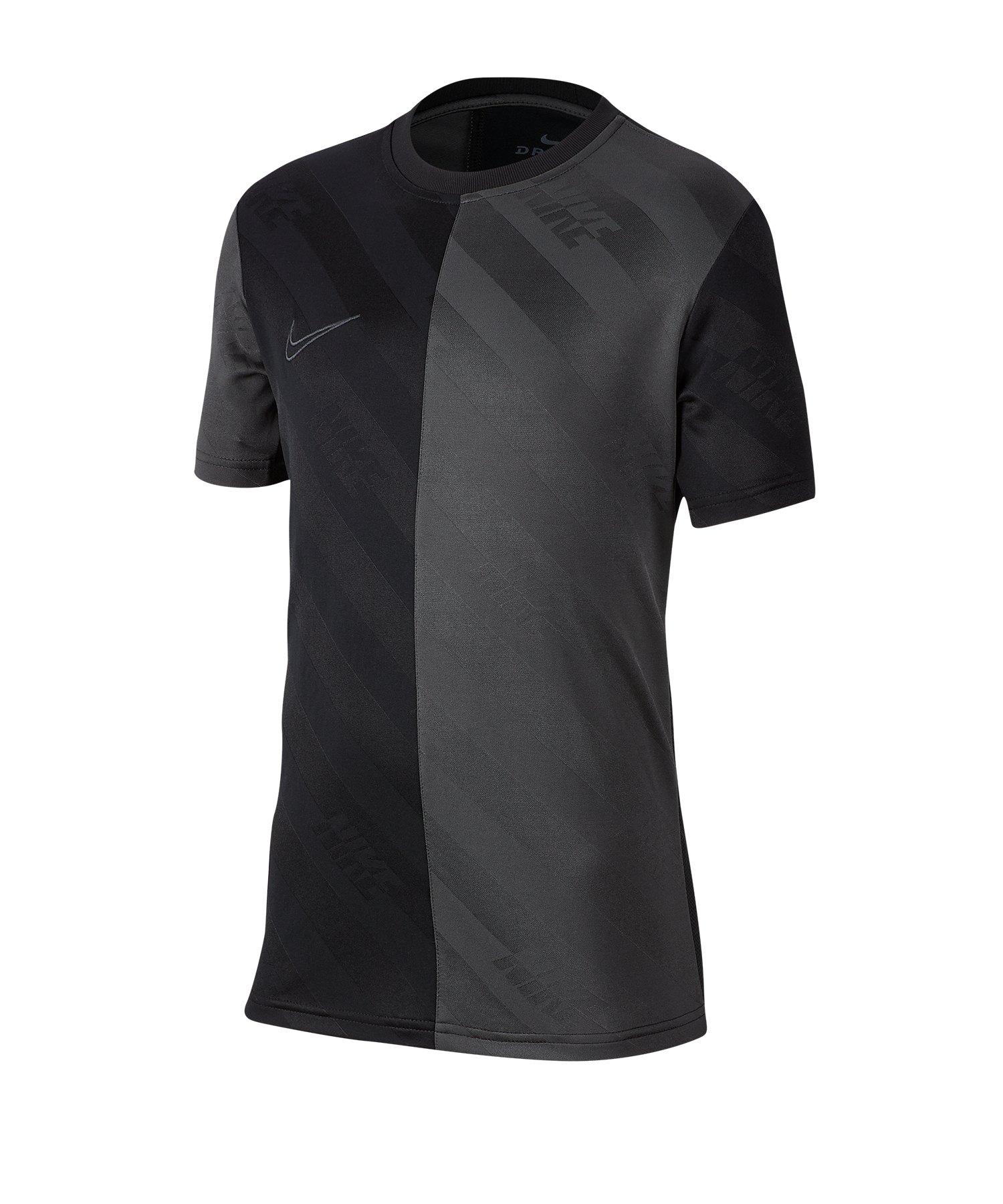 Nike Dri-FIT Academy T-Shirt Kids Schwarz F010 - schwarz