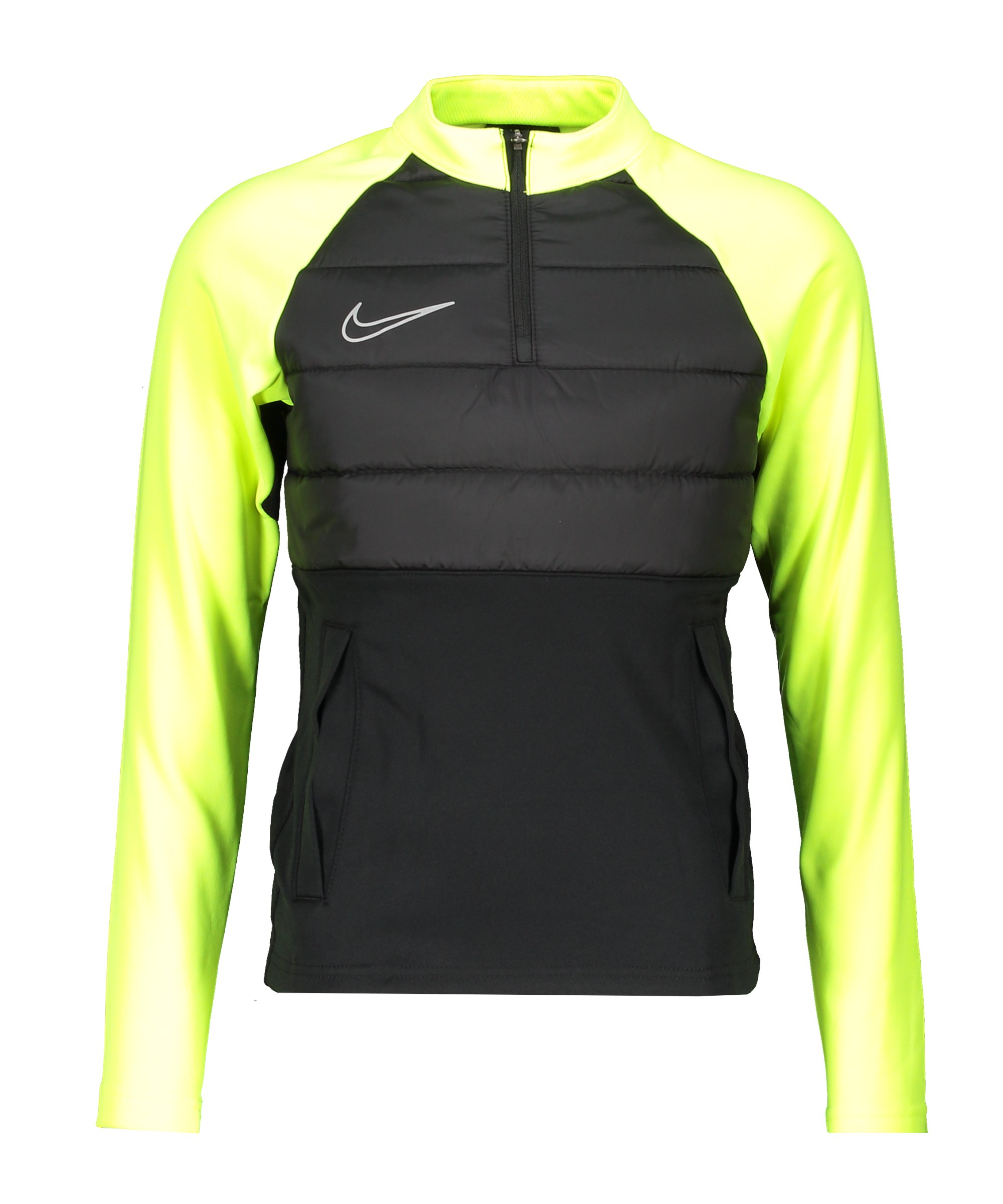 Nike Dri-FIT Academy 1/4 Zip Sweatshirt Kids F013 - schwarz