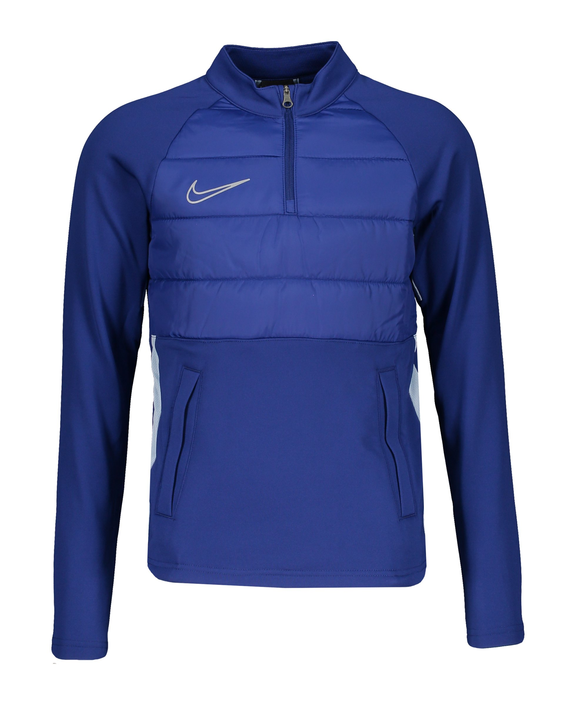 Nike Dry Academy 1/4 Zip Sweatshirt Kids F455 - blau