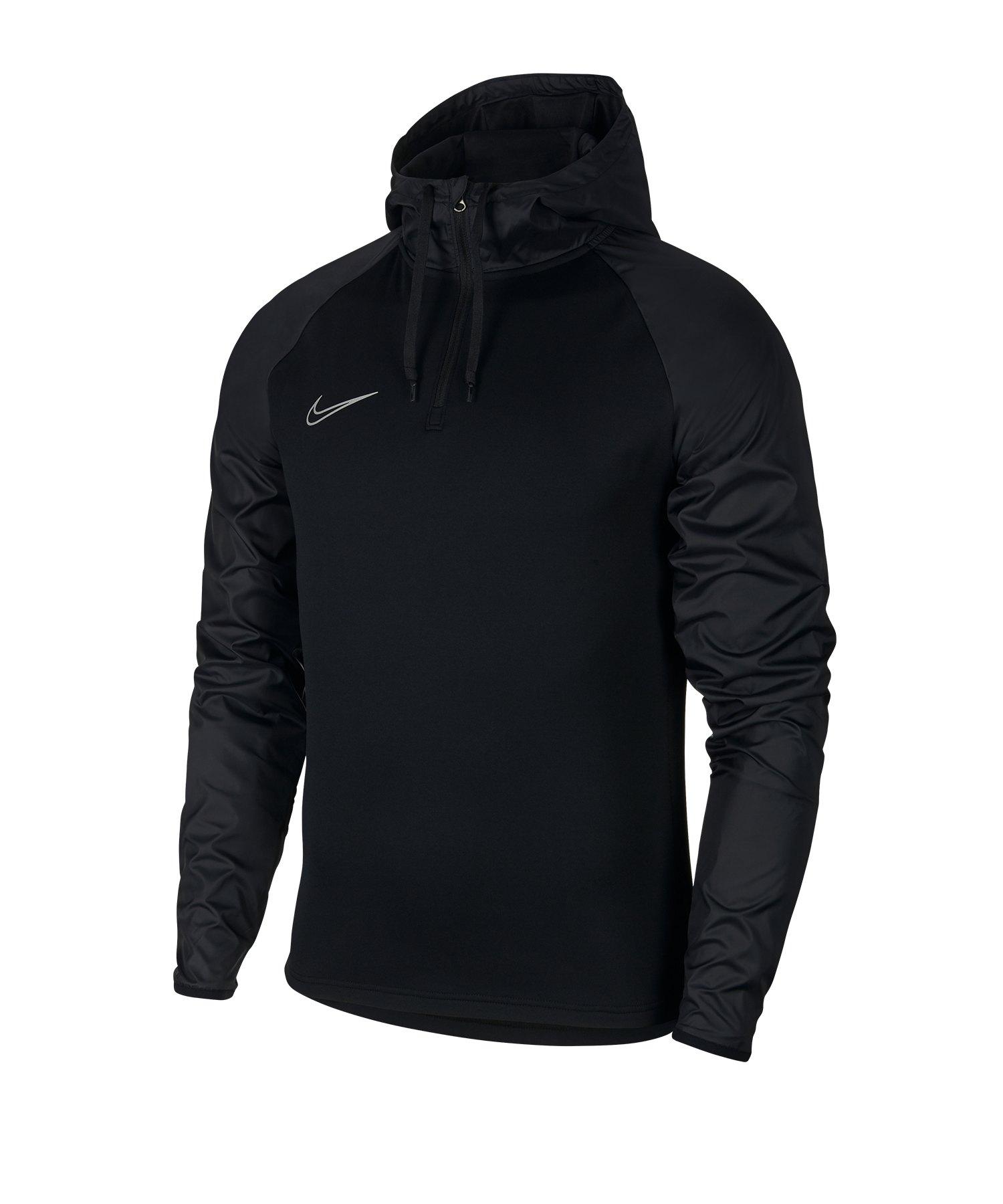 Nike Dri-FIT Academy Kapuzensweat Schwarz F010 - schwarz