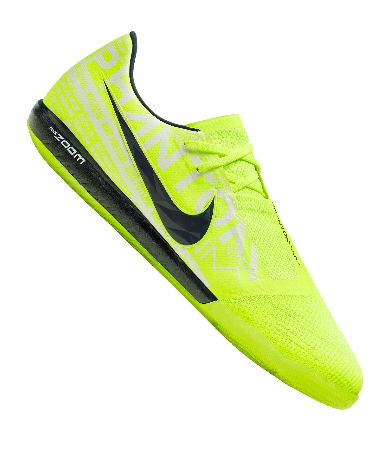 Nike Zoom Phantom Venom Pro IC Gelb Schwarz F717 - gelb