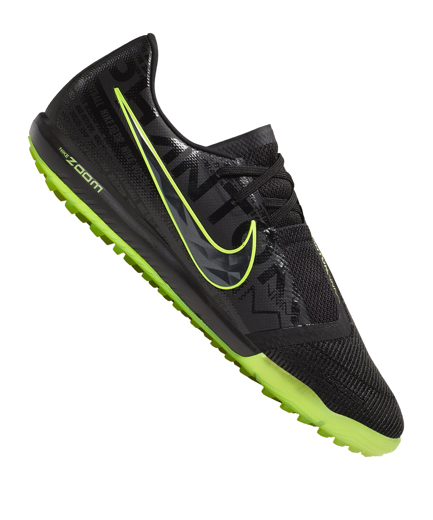 Nike Zoom Phantom Venom Pro TF Schwarz Grün F007 - schwarz