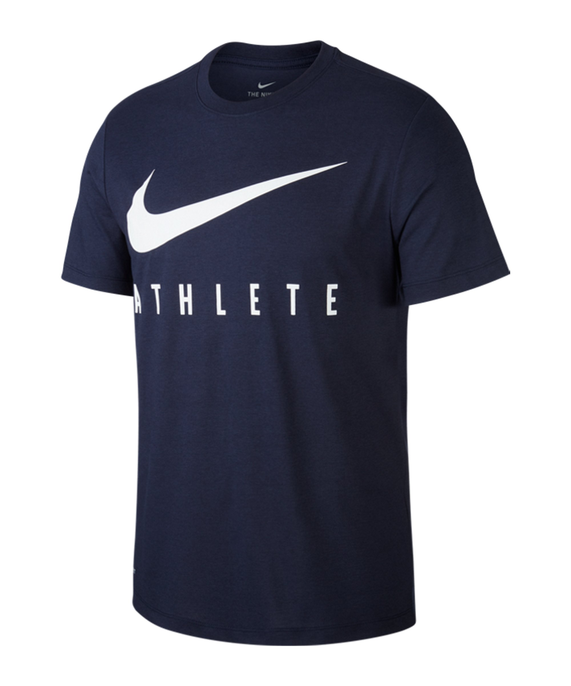 Nike Dri-FIT Athlete T-Shirt Running Blau F451 - blau