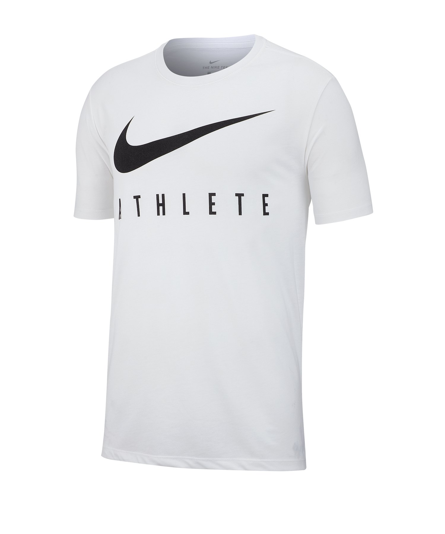Nike Dri-FIT Athlete T-Shirt Running Weiss F100 - weiss