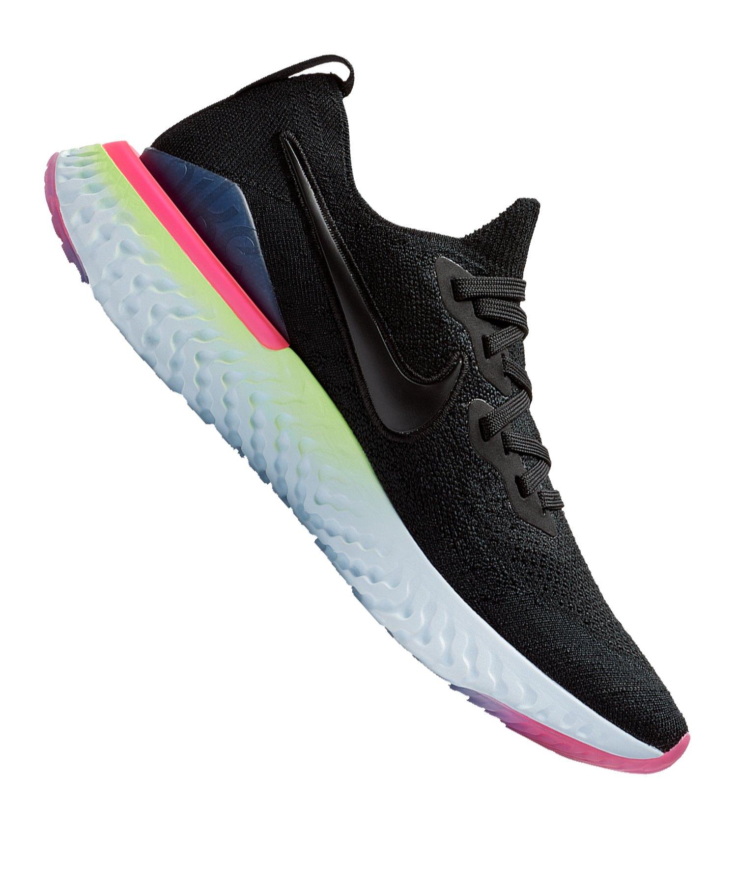 Nike Epic React Flyknit 2 Running Damen F003 - schwarz