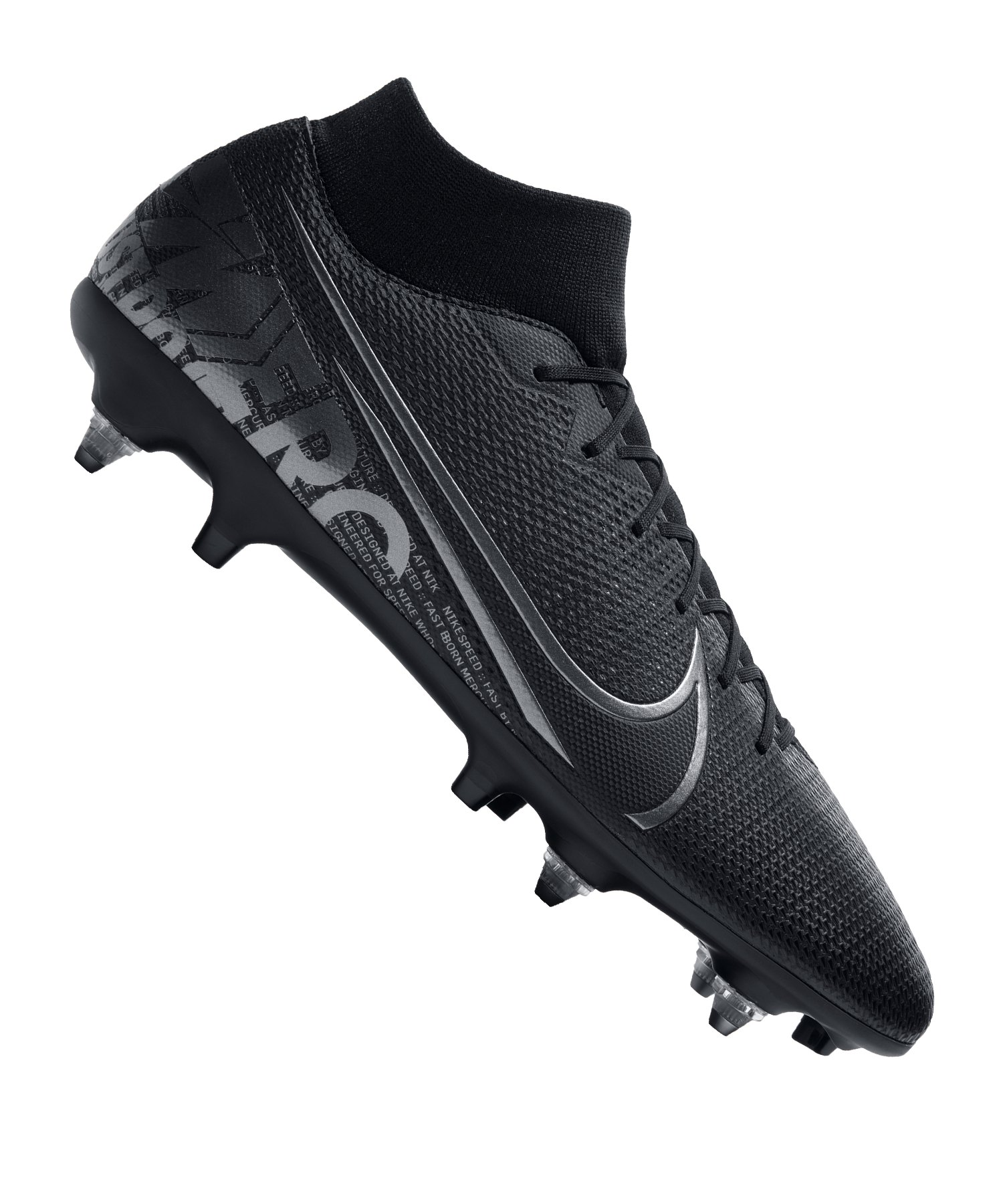 Nike Mercurial Superfly VII Academy SG-Pro AC F001 - schwarz