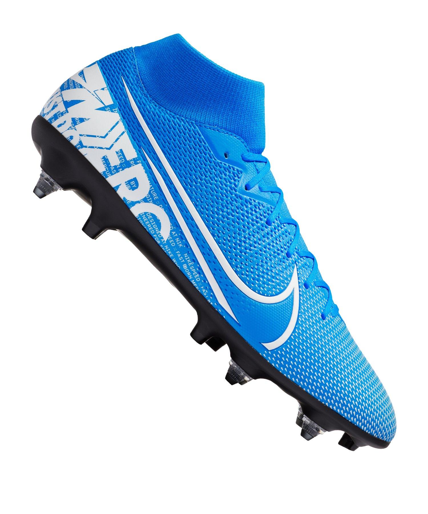 Nike Mercurial Superfly VII Academy SG-Pro AC F414 - blau