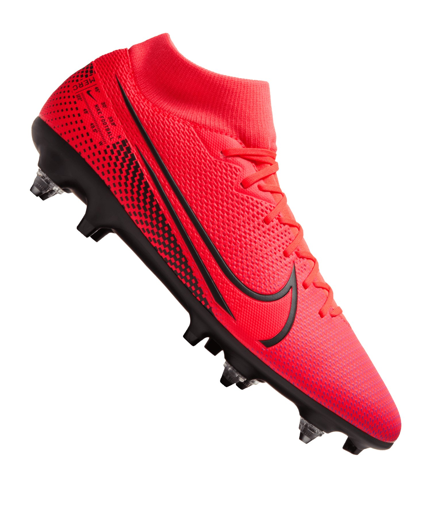 Nike Mercurial Superfly VII Academy SG-Pro AC F606 - rot