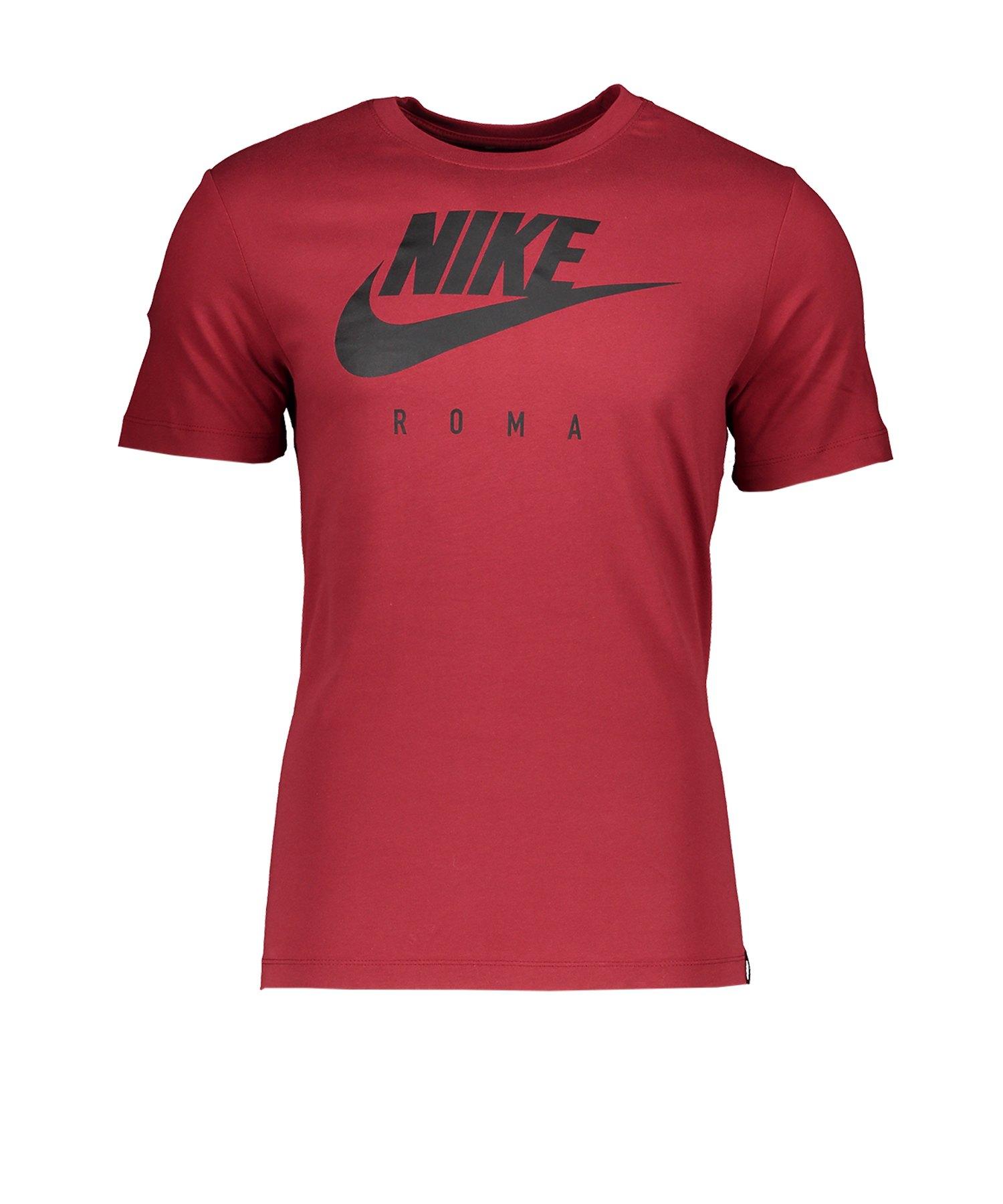 Nike AS Rom Dry Tee T-Shirt CL Rot F614 - rot