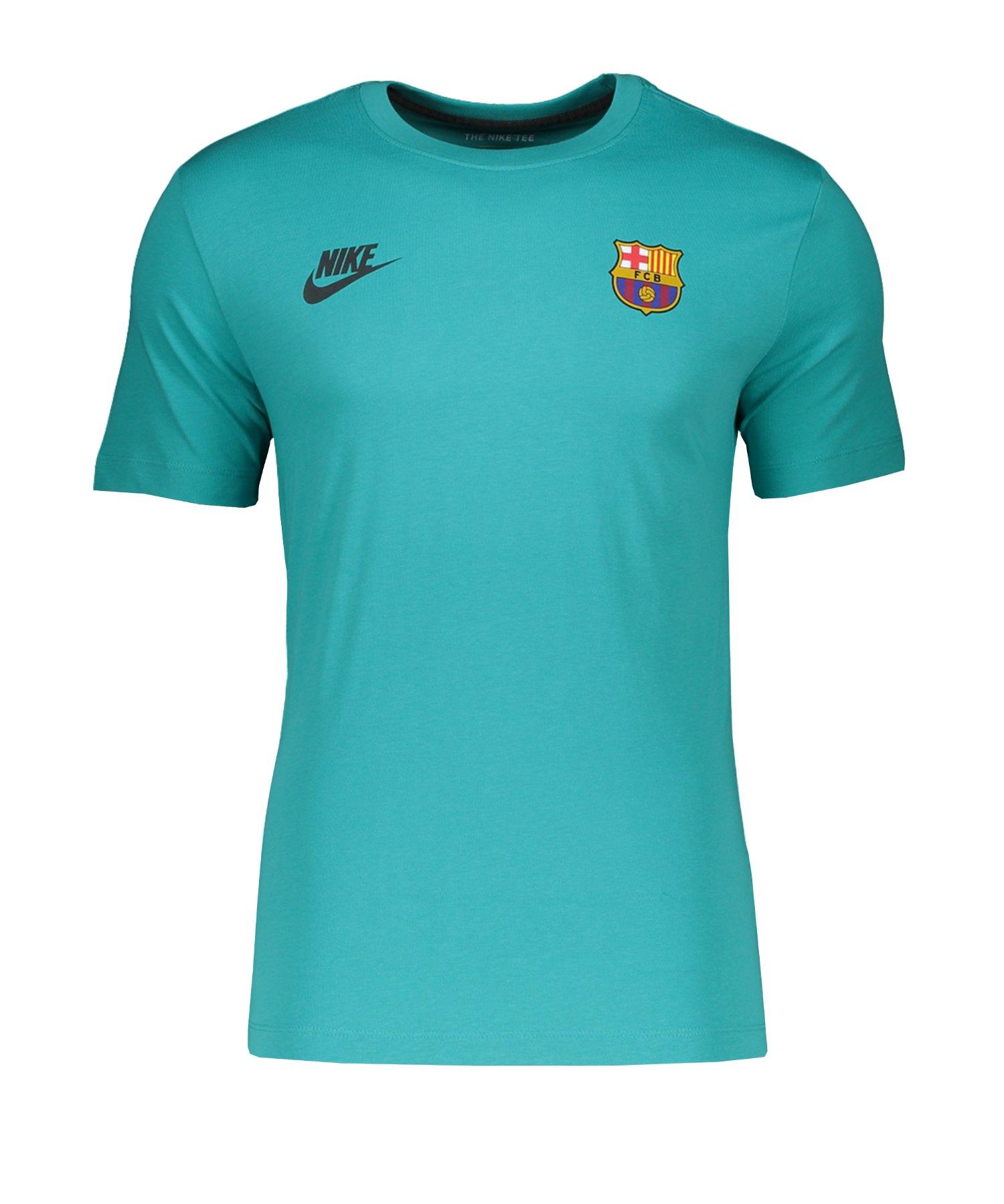 Nike FC Barcelona T-Shirt Grün F309 - gruen