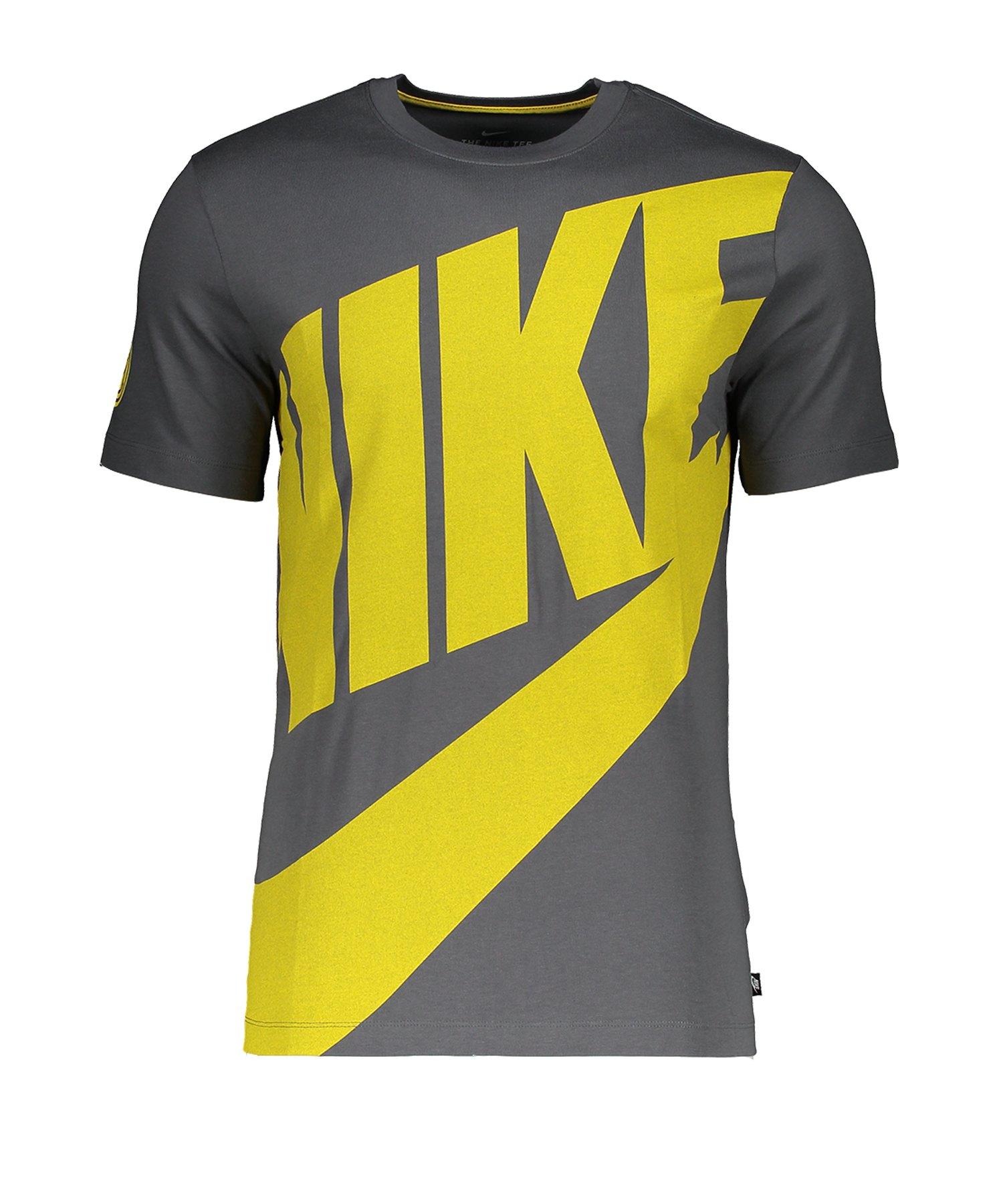 Nike Inter Mailand T-Shirt CL Grau F021 - grau