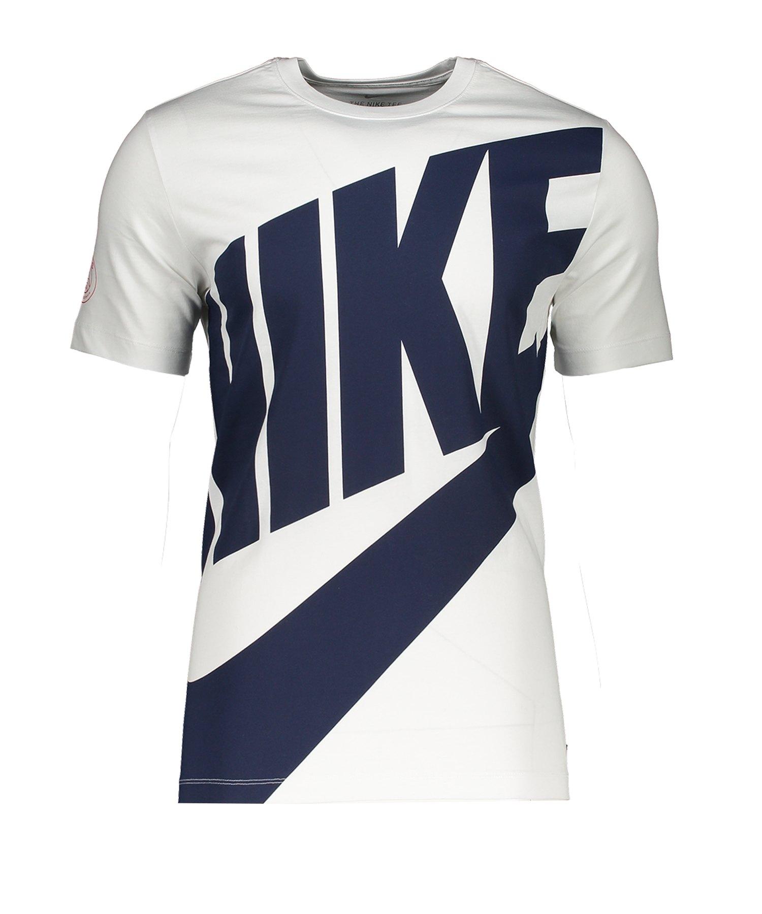 Nike Paris St. Germain T-Shirt CL Weiss F100 - weiss