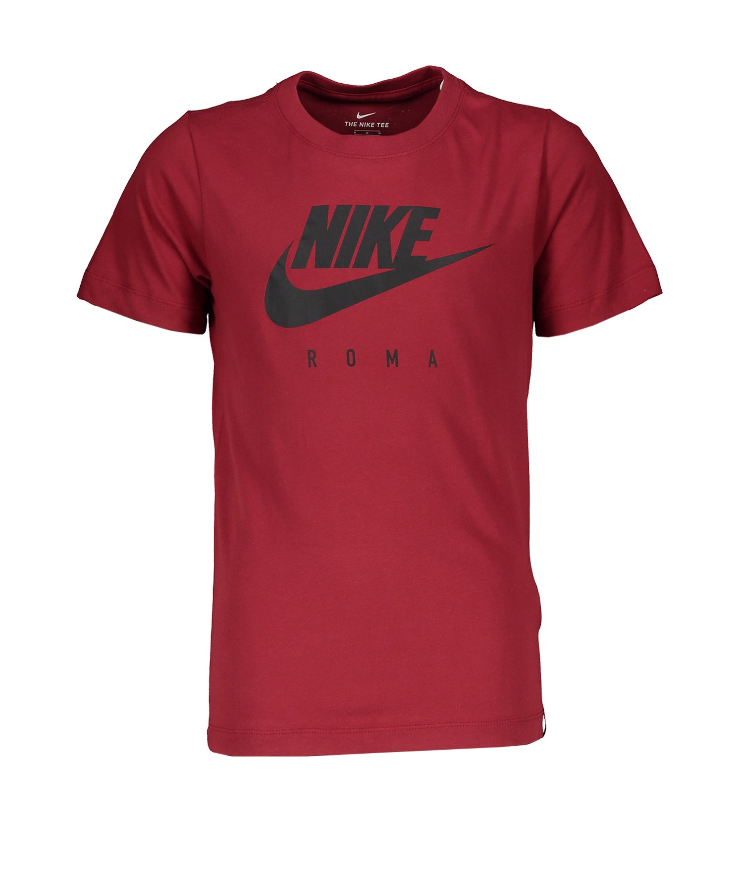 Nike AS Rom Dry Tee T-Shirt CL Kids Rot F614 - rot