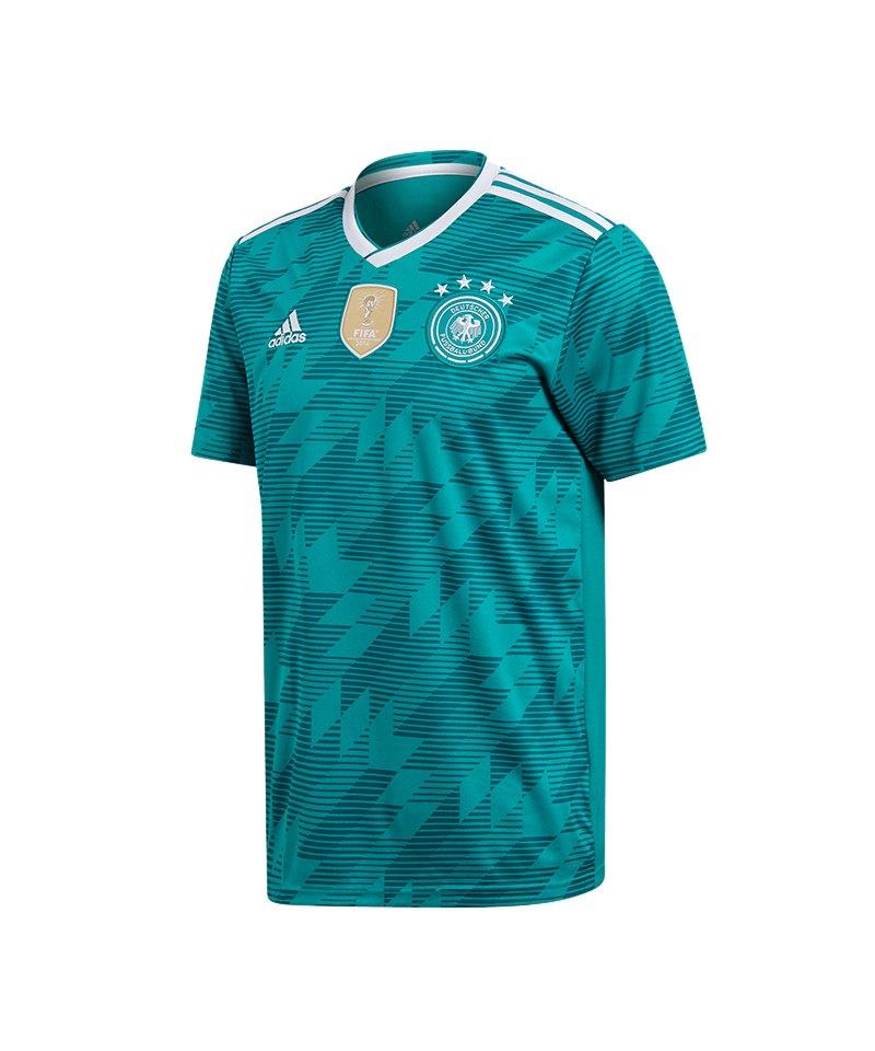 adidas DFB Deutschland Trikot Away Kids WM18Türkis - tuerkis