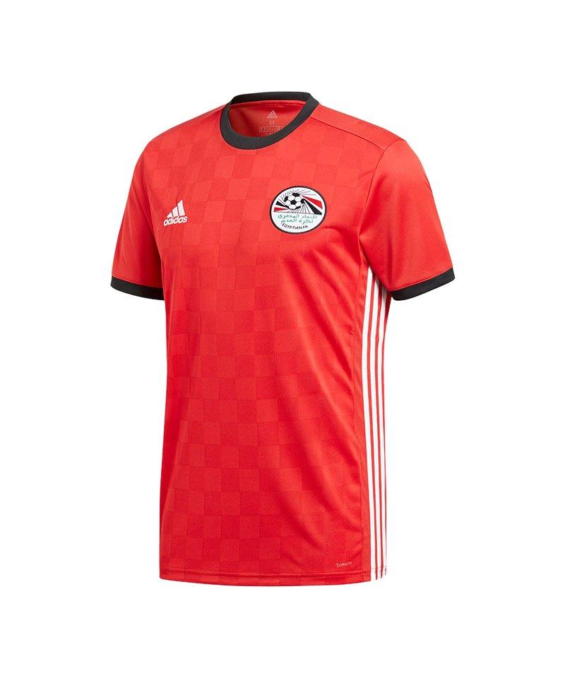 adidas Ägypten Trikot Home WM 2018 Rot - rot