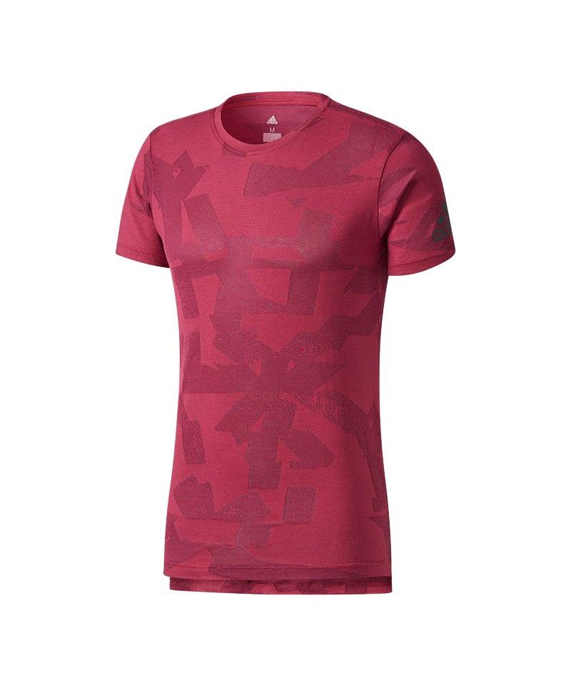 adidas Freelift Elevated T-Shirt Rot - rot