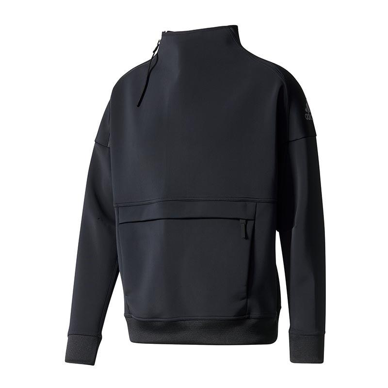 adidas Icon Sweatshirt Schwarz - schwarz