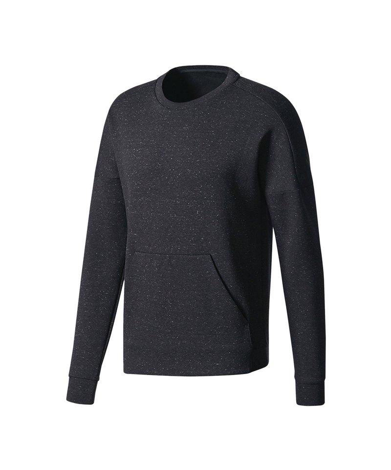 adidas ID Stadium Crew Sweatshirt Schwarz - schwarz