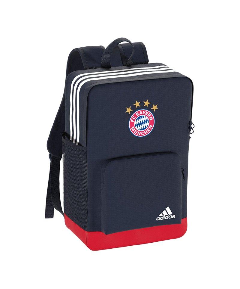 adidas Rucksack Backpack FC Bayern München Blau - blau
