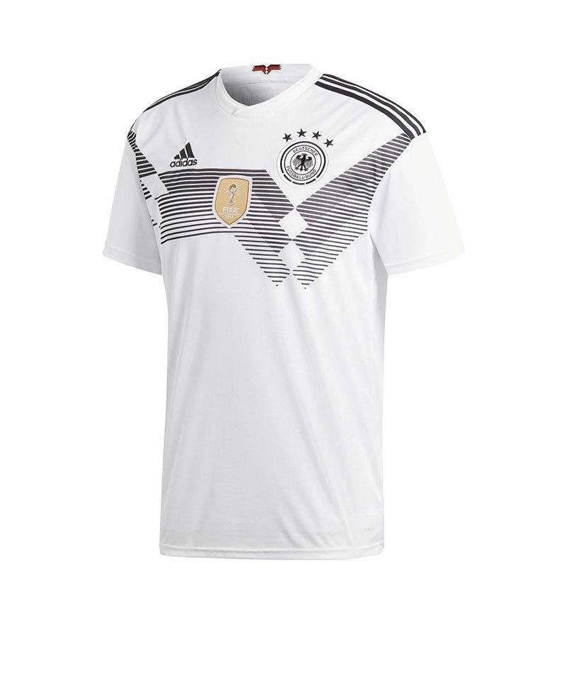 adidas DFB Deutschland Trikot Home WM 2018 Weiss - weiss