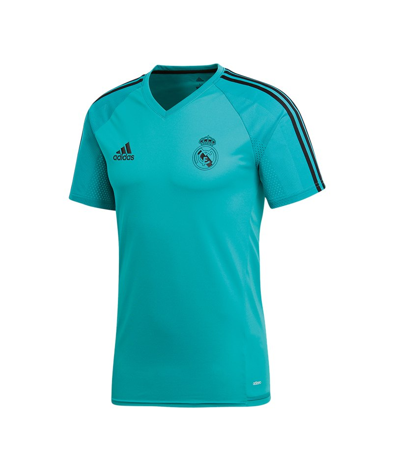 adidas Real Madrid Trainingstrikot Türkis - tuerkis