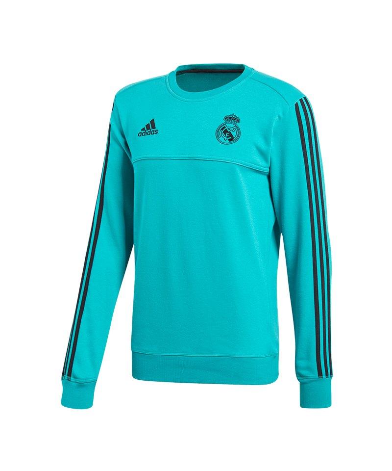 adidas Real Madrid Sweatshirt Türkis - tuerkis