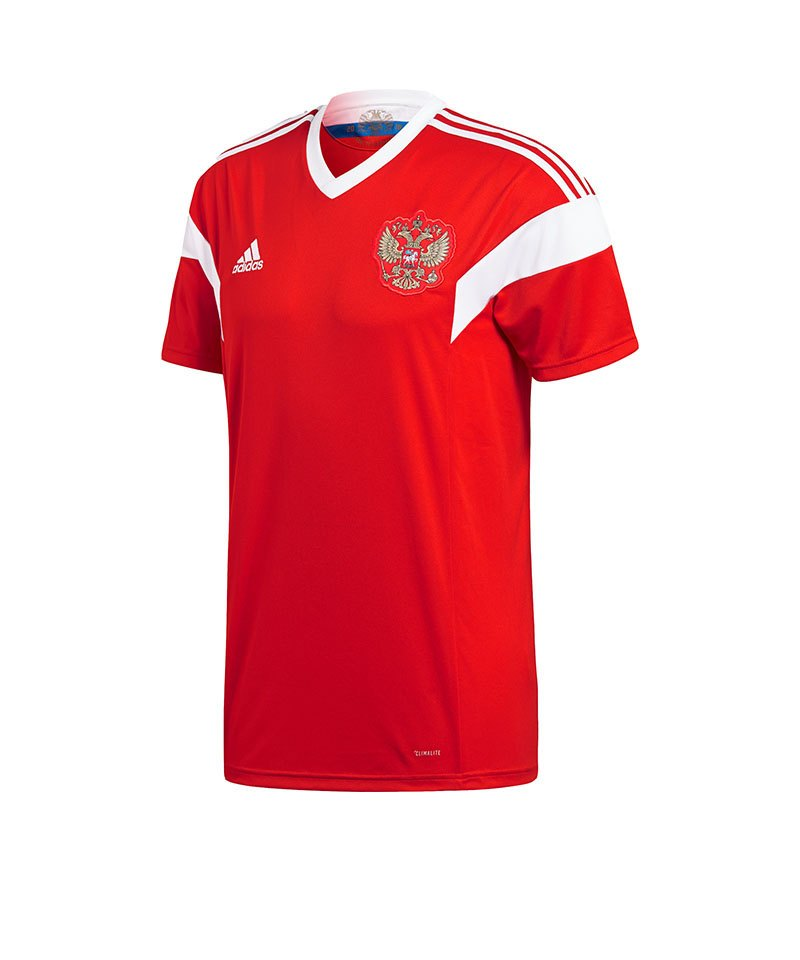 adidas Russland Trikot Home WM 2018 Rot Weiss - rot