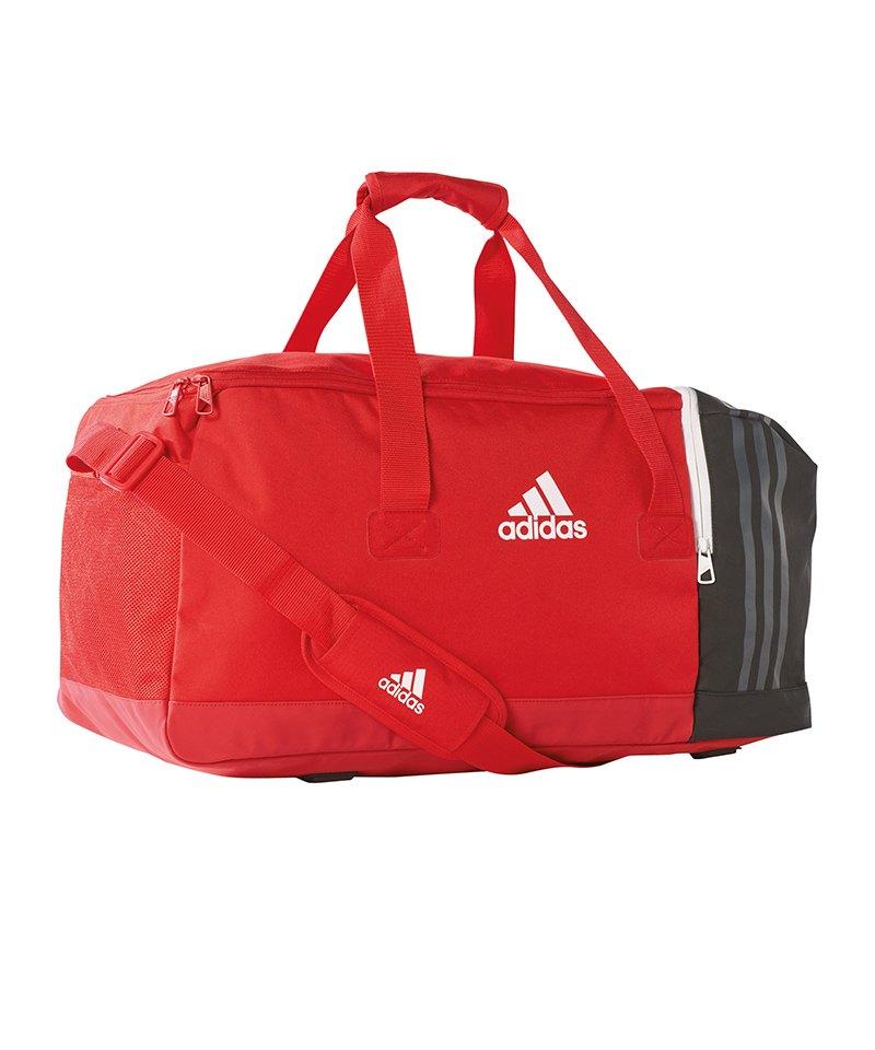 adidas Tiro Teambag Gr. M Rot Schwarz Weiss - rot