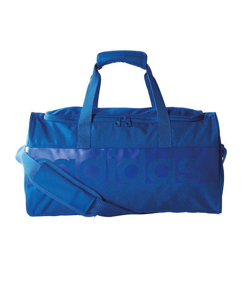adidas Tiro Linear Teambag Gr. S Blau - blau