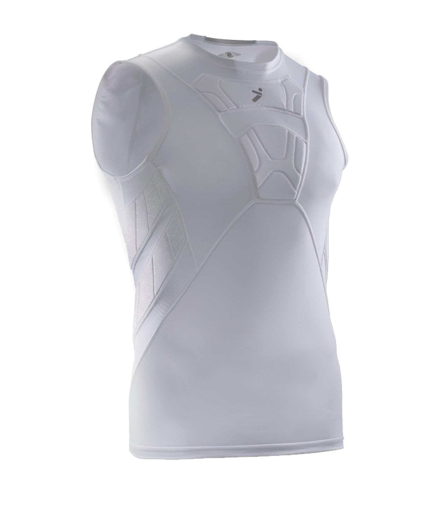 Storelli Bodyshield Sleeveless Shirt Weiss - weiss