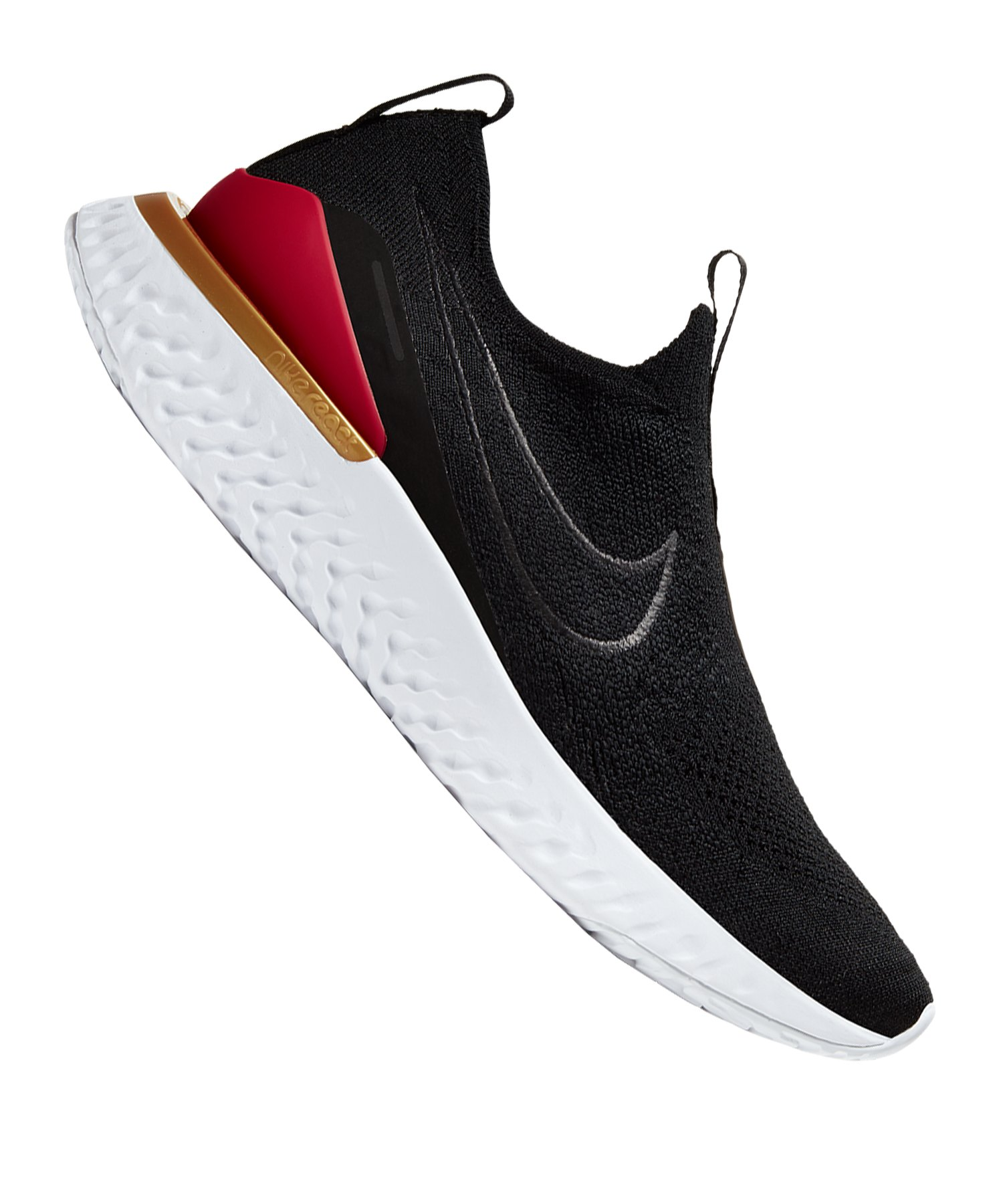 Nike Epic Phantom React Flyknit Running Damen F004 - schwarz