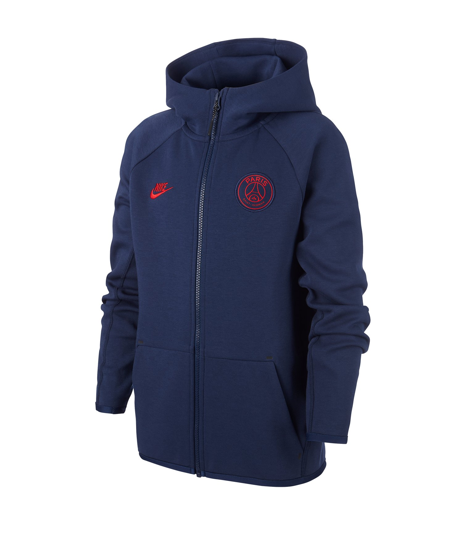 Nike Paris St. Germain Tech Kapuzenjacke Kids F410 - blau