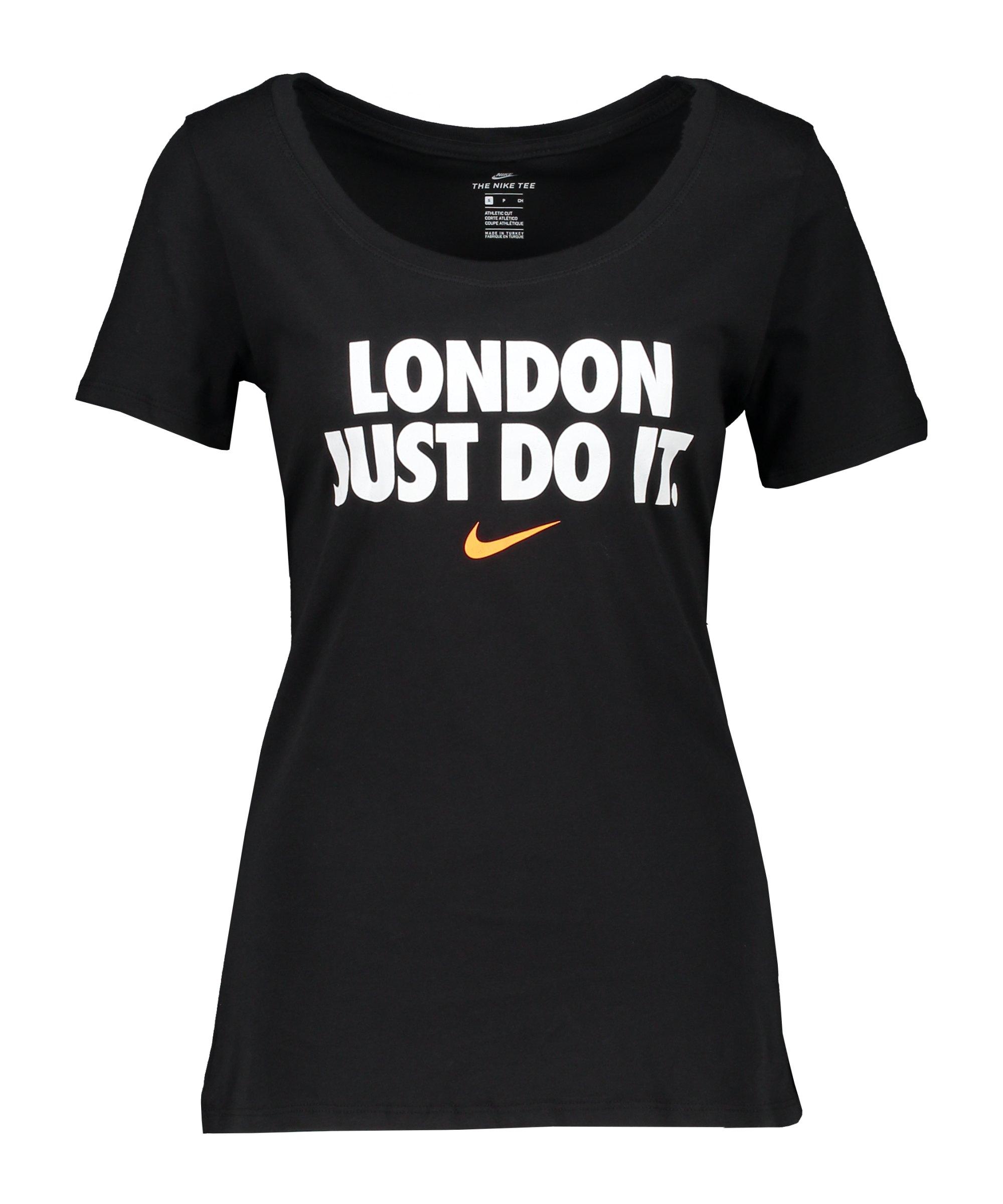 Nike JDI London T-Shirt Damen Schwarz F010 - schwarz