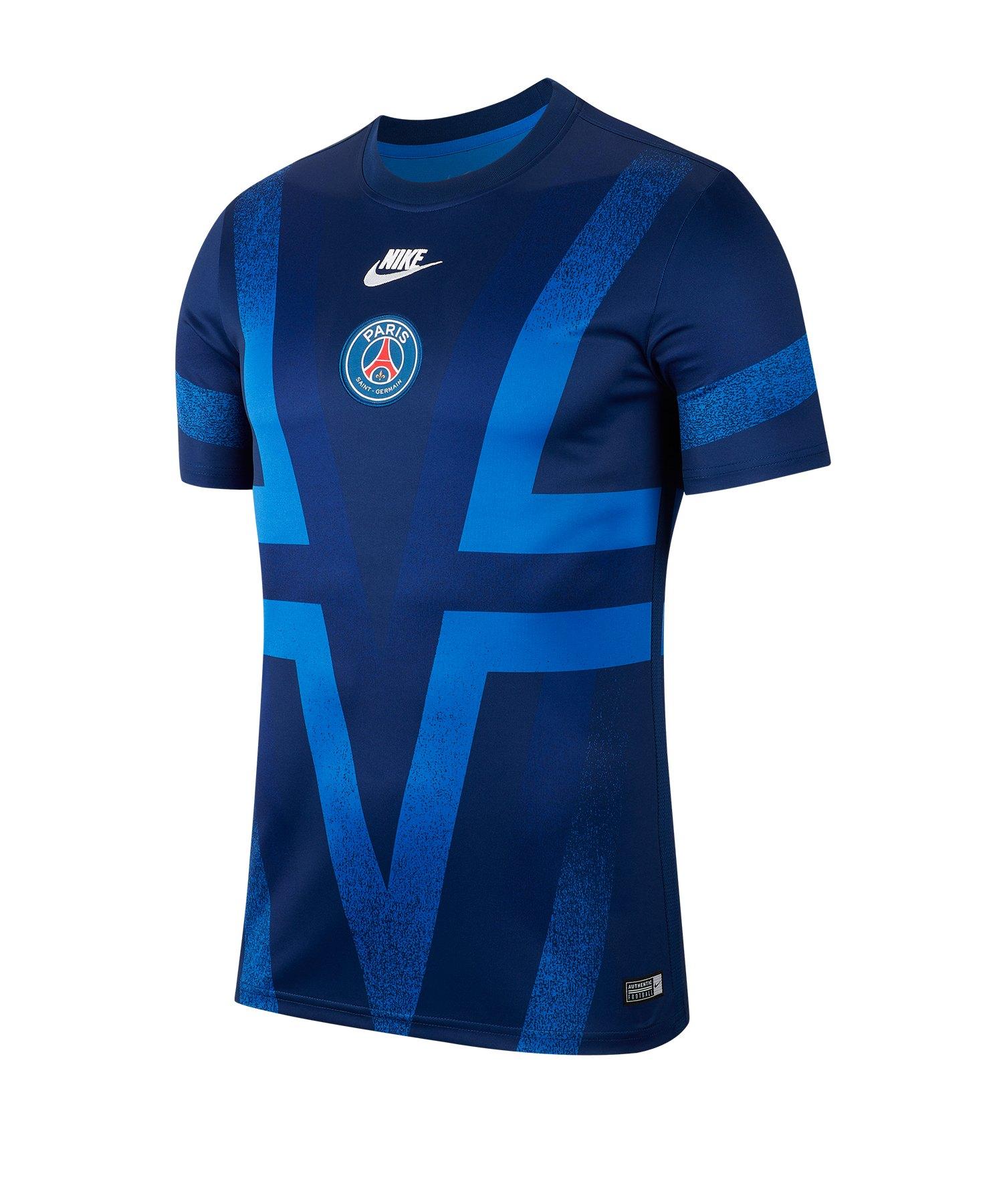 Nike Paris St. Germain Dry Top T-Shirt CL F496 - blau